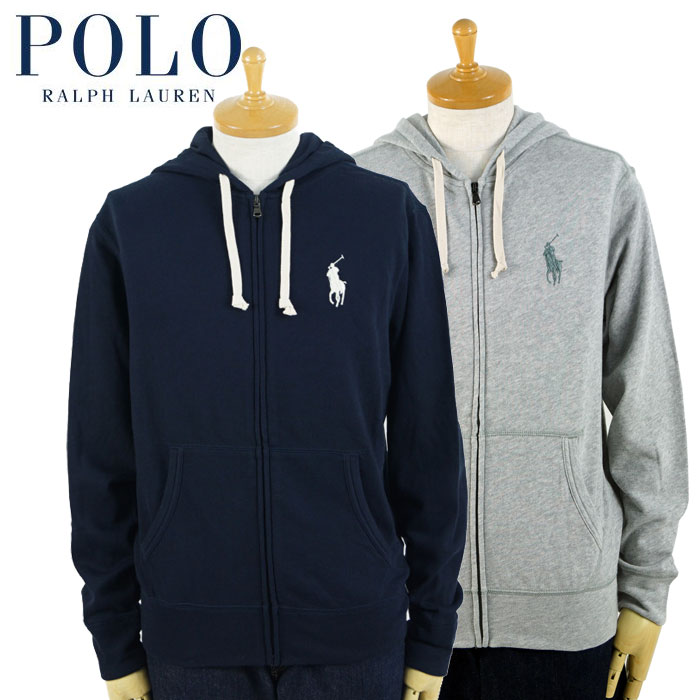 Parkas Polo Sweat Of Pony Two Colors Ralph Lauren Middle Full Shirt Zip nvmN08wO