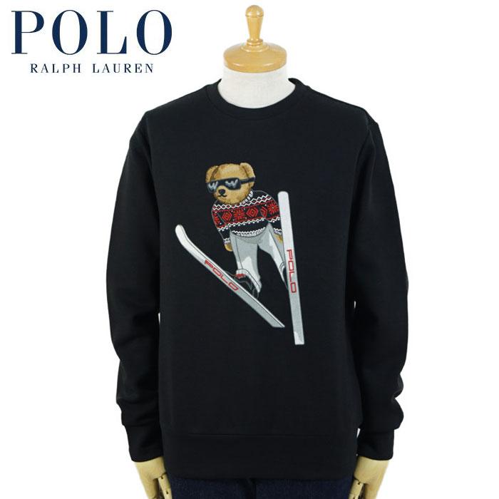 ラルフローレン POLO Ralph Lauren ポロベアー スウェット ブラック スキー