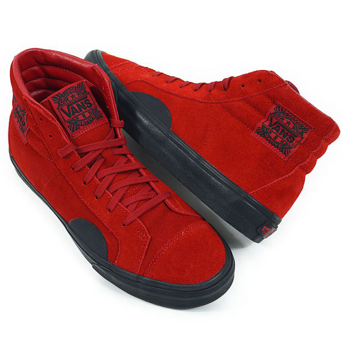 2dc6e82586a6bd BEEF  Vans STYLE 238 VANS NATIVE AMERICAN suede cloth red