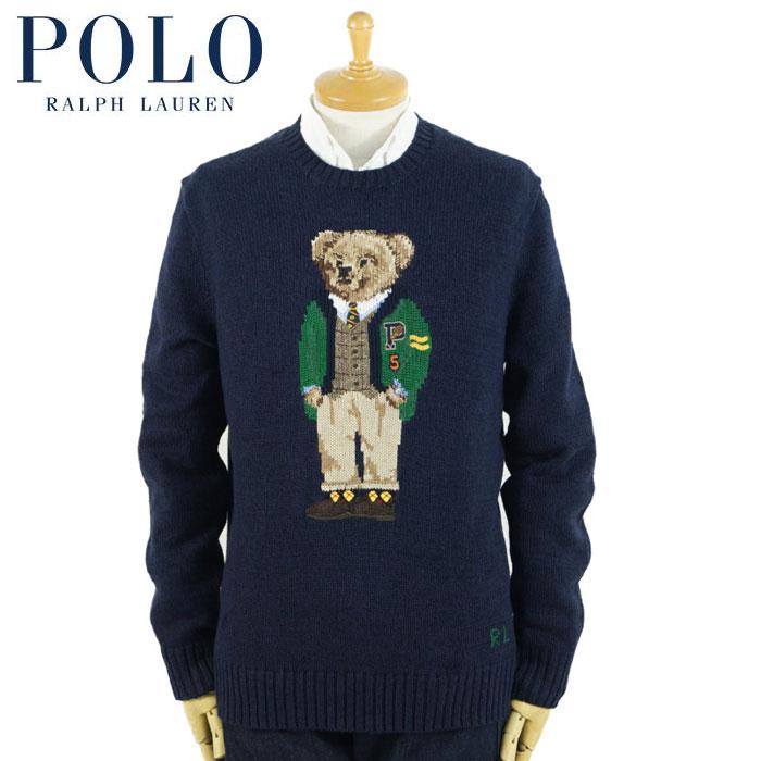 ラルフローレン POLO Ralph Lauren ポロベアー セーター ネイビー カーディガン