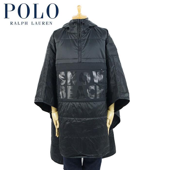 ラルフローレン POLO Ralph Lauren スノービーチ ポンチョ SNOW BEACH PONCHO ブラック