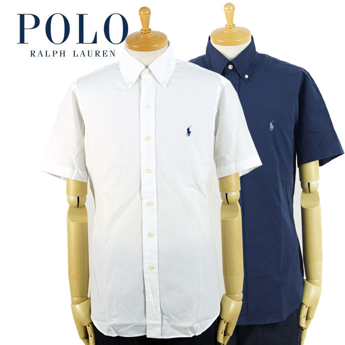 お買得 ラルフローレン POLO Ralph 定番の人気シリーズPOINT(ポイント)入荷 Lauren クラシックフィット ブロード 半袖 シャツ