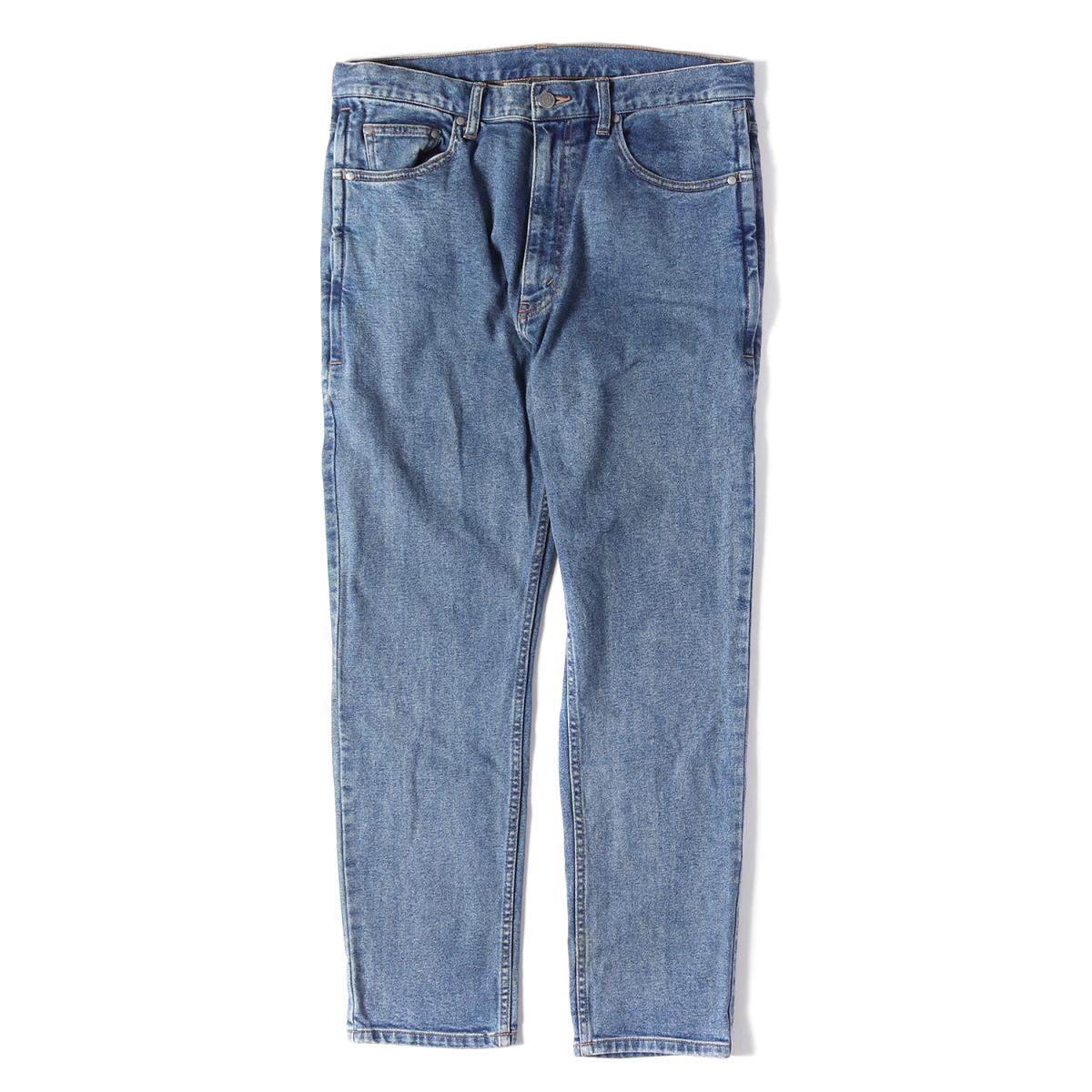BEAMS (ビームス) 17S/S 7ポケットストレッチジッパーフライデニムパンツ(Cool slim 7 pants) インディゴ L 【中古】【メンズ】【K2573】【あす楽☆対応可】
