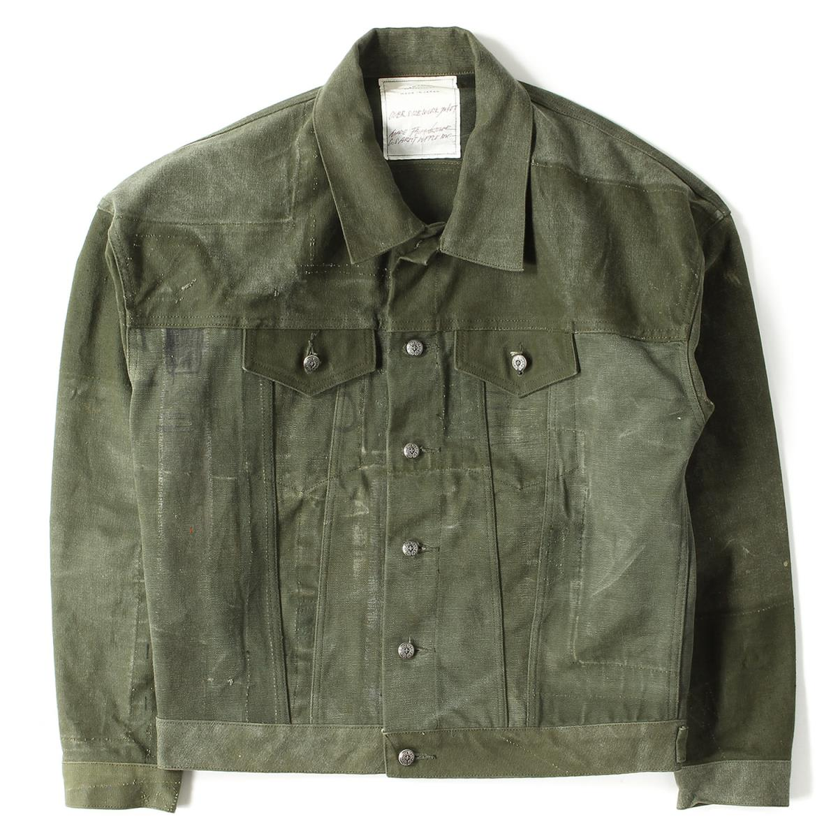 b79b5e0970f CHROME HEARTS (chromic Hertz) X READYMADE military rebuilding over size  work jacket (OVER SIZE WORK JACKT) beauty article green 1
