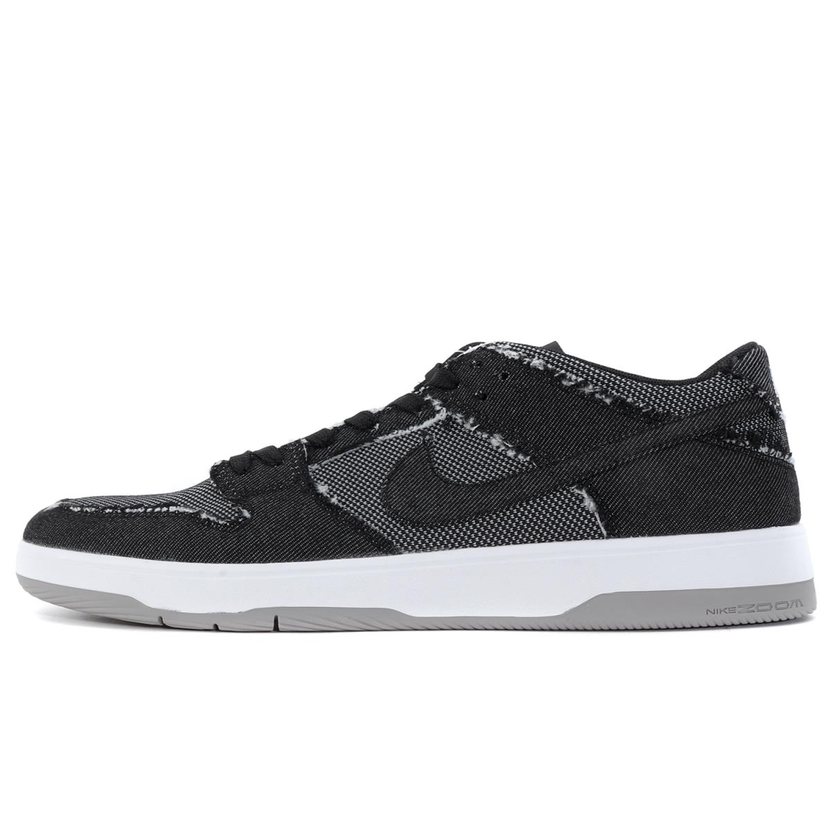 NIKE (ナイキ) ×MEDICOM TOY SB ZOOM DUNK LOW ELITE QS BE@RBRICK DENIM ブラック US10(28cm) 【K1856】【あす楽☆対応可】