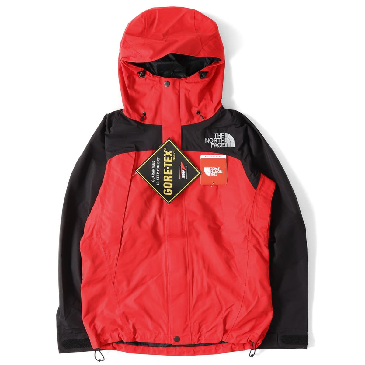 THE NORTH FACE (the North Face) 15A W GORE-TEX mountain jacket (MOUNTAIN  JACKET) red X black S cb9c5bc54f88