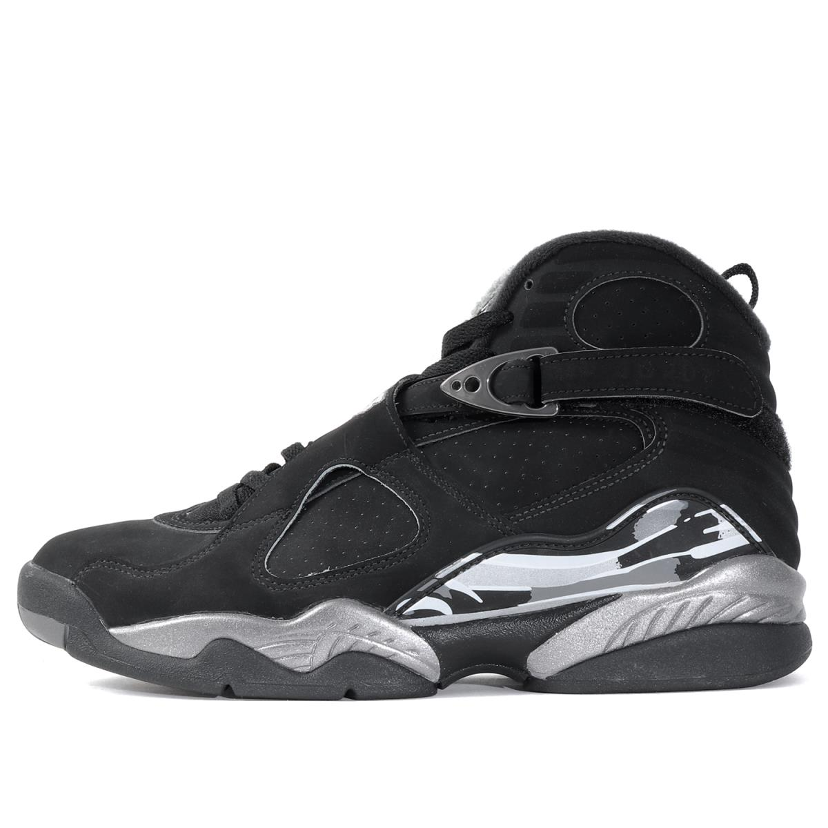 d66526f65c2 ... uk nike nike air jordan 8 retro chrome 305381 003 black x chrome  us826cm fdb77 eef7c