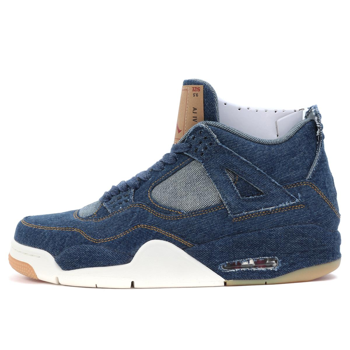 new concept e04a7 757b3 2,323 pairs of NIKE (Nike) world limited X Levi's AIR JORDAN 4 RETRO LEVIS  NRG (AO2571-401) indigo US9.5(27.5cm)