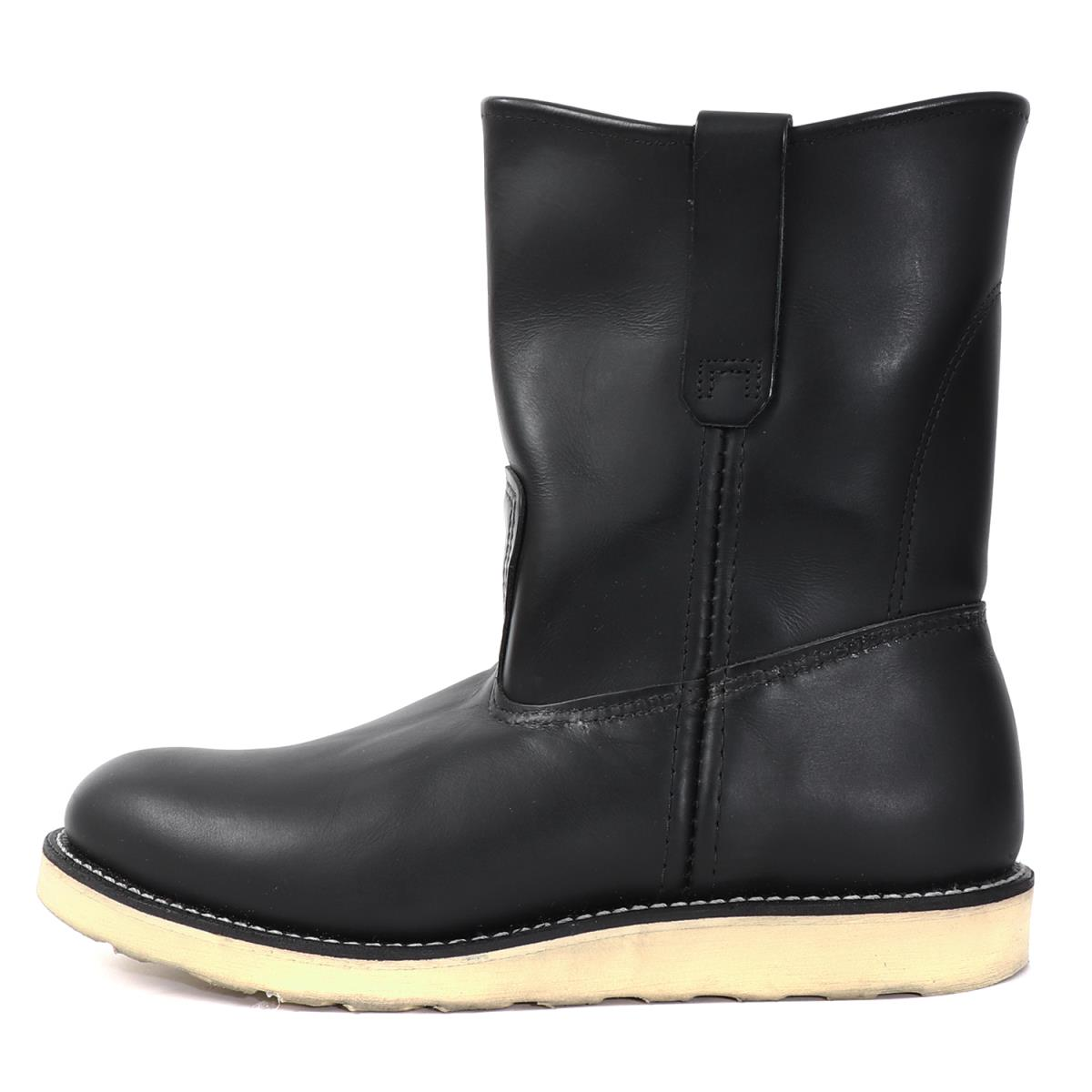 fc10d8e8057 Red Wing (red wing) 14' 8169 leather pekoe boots (Pecos Boots) black US8.5  E(26.5cm)