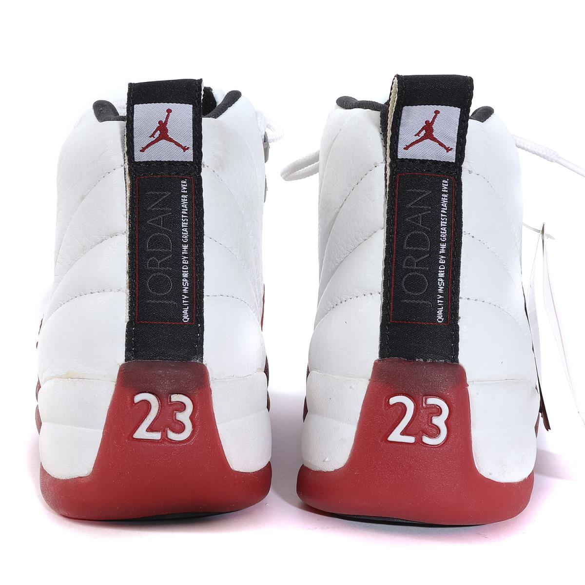 new style 5486e 79eca NIKE (Nike) AIR JORDAN 12 (original model / 130,690-161 made in 96) white X  bar city red US8.5(26.5cm)