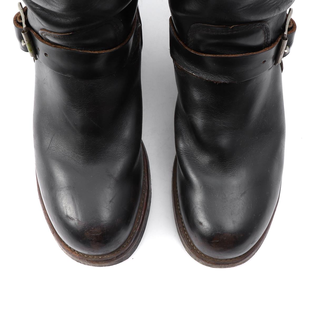 Red Wing (red wing) 80' s 2268 PT83 engineer boots (tea core / length  feather tag) black