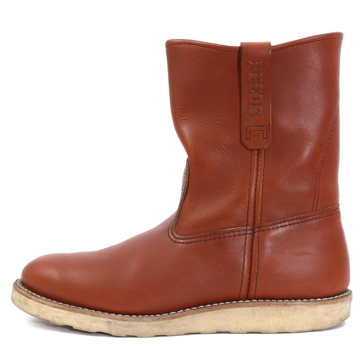 1944834e350 Red Wing (red wing) 11' 8866 leather pekoe boots (Pecos Boots) オロラセット  (reddish brown) US9 E(27cm)