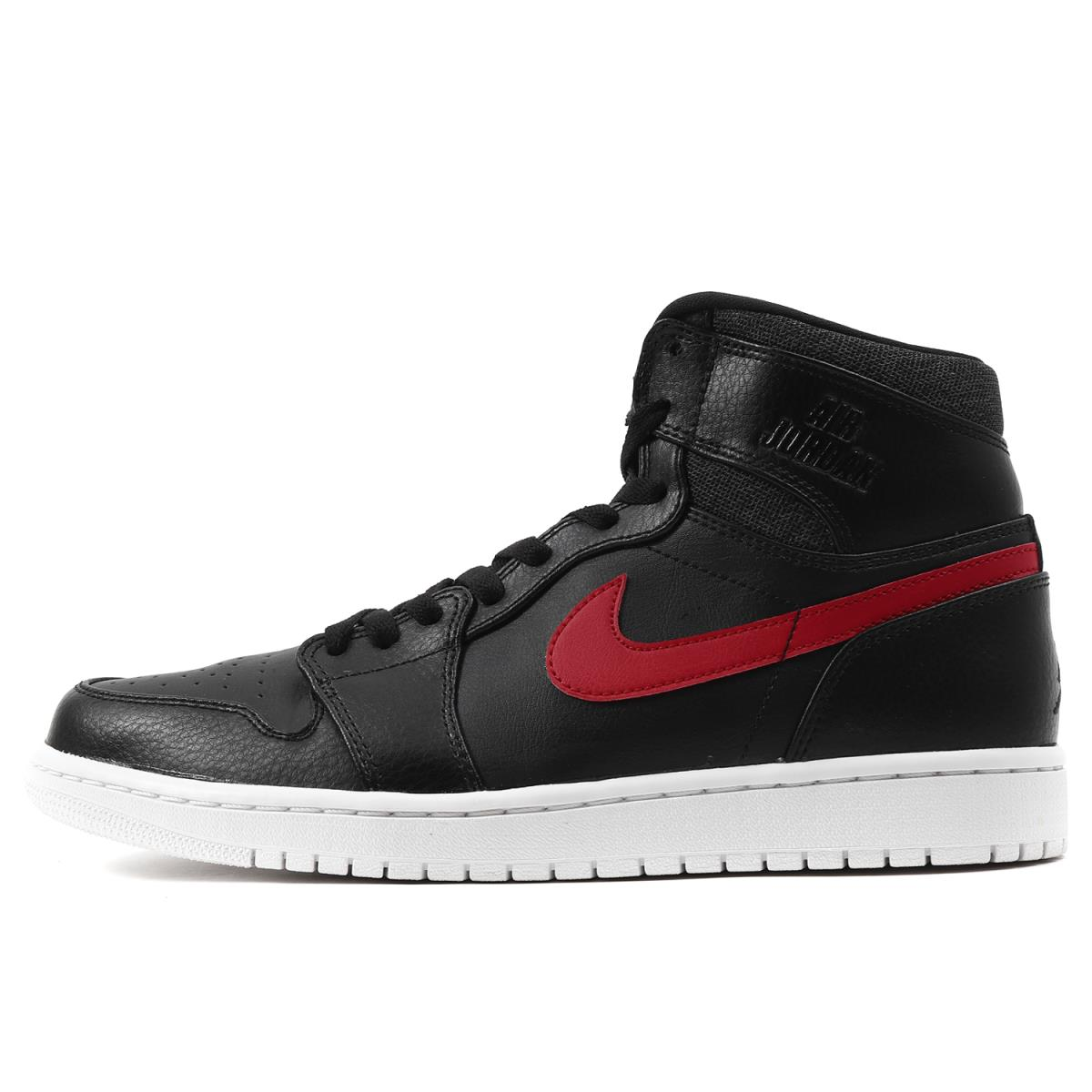 official photos a70e2 258c8 NIKE (Nike) AIR JORDAN 1 RETRO HIGH RARE AIR (332,550-012) black X gym red  US10(28cm)