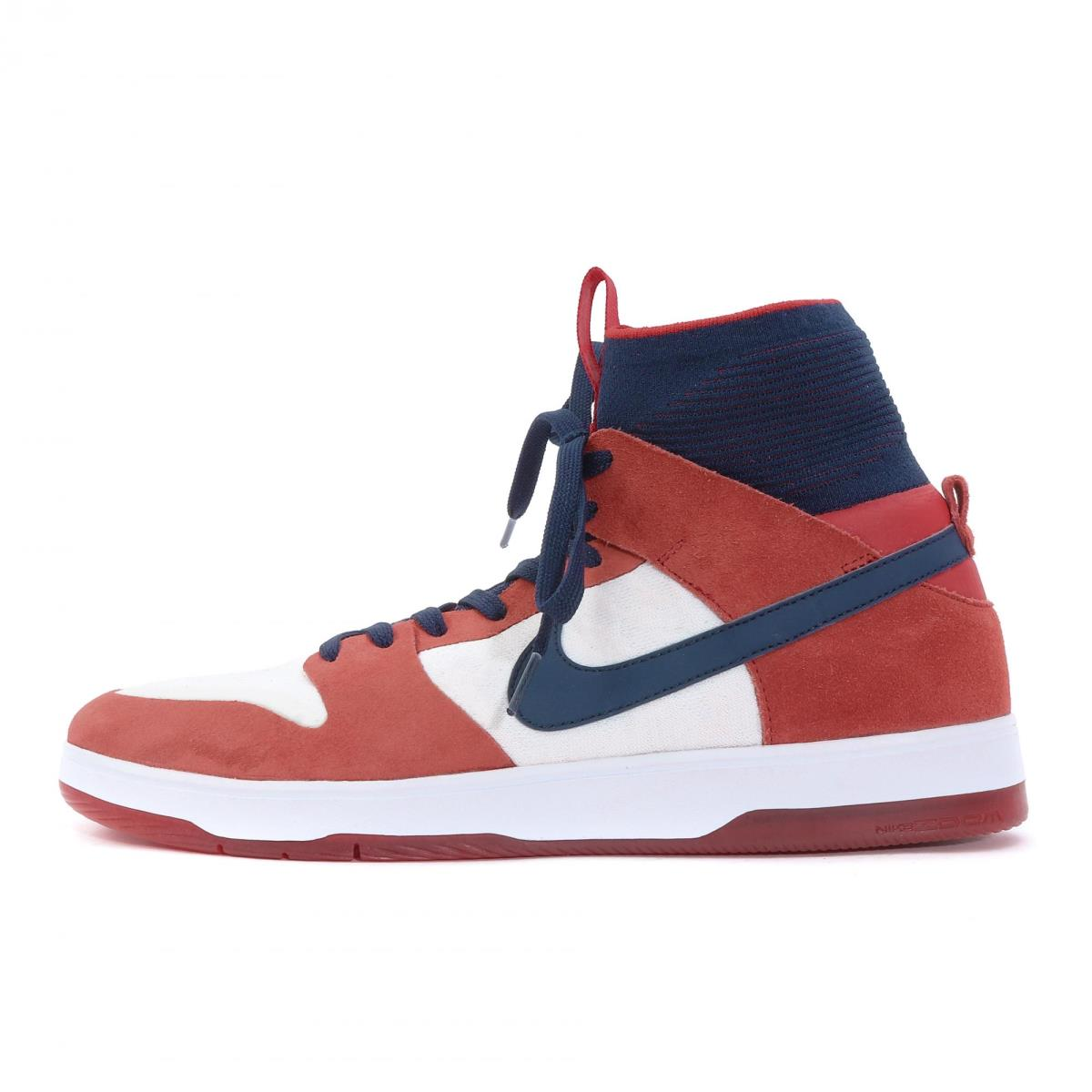 official photos 8cbac 3d19d NIKE (Nike) SB ZOOM DUNK HIGH ELITE (917,567-641) red X college navy  US10(28cm)