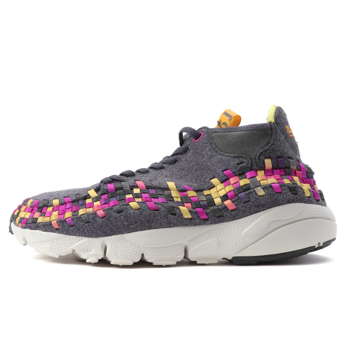 NIKE (ナイキ) AIR FOOTSCAPE WOVEN CHUKKA WOOL PACK (443686-077) グレー US9.5(27.5cm) 【美品】【K1947】【中古】【あす楽☆対応可】