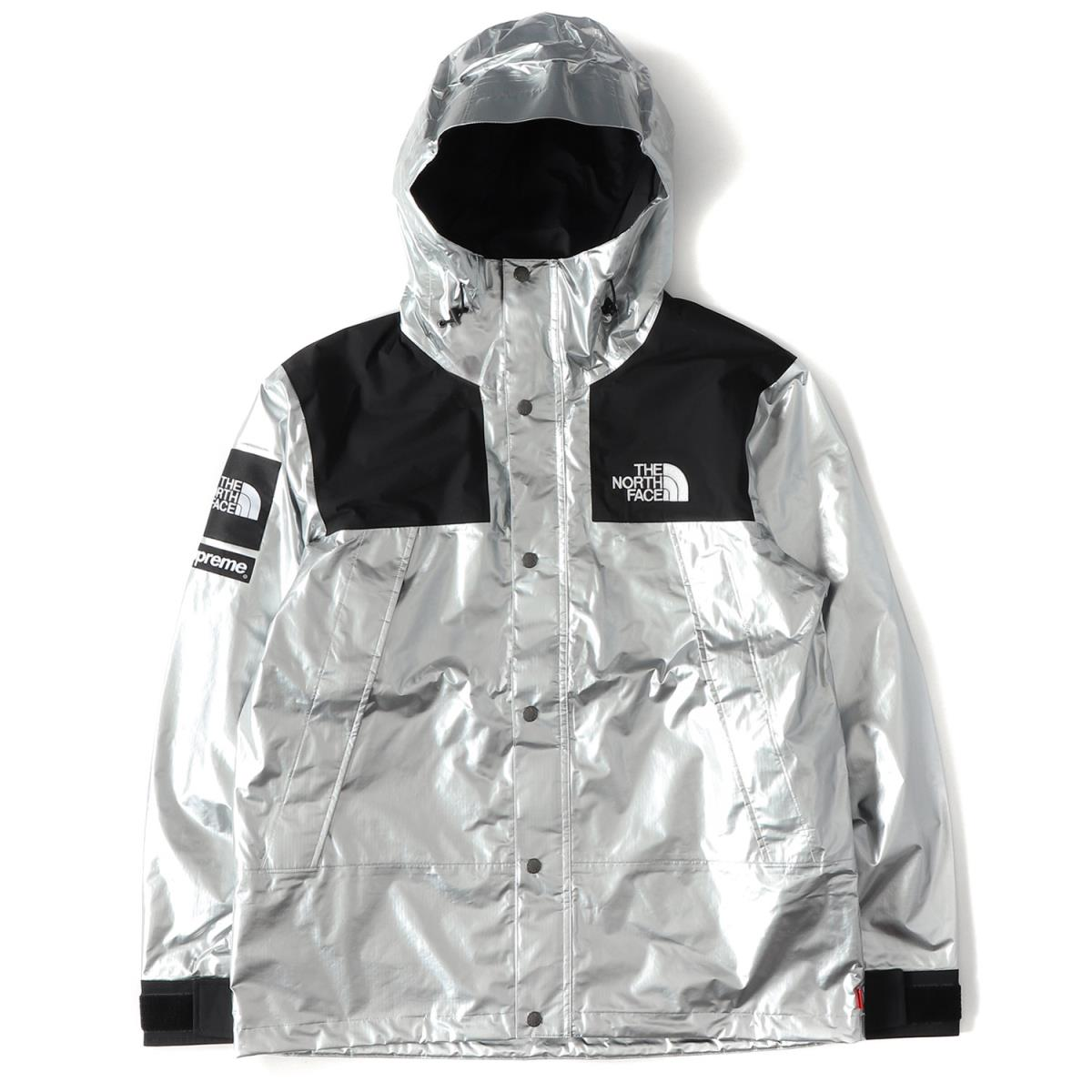90ca869eb Supreme (シュプリーム) 18SS X THE NORTH FACE metallic mountain parka (Metallic  Mountain Parka) silver metallic M