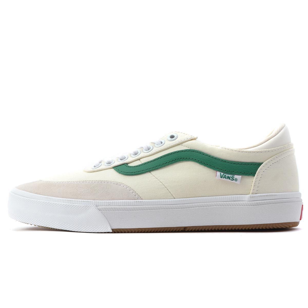 VANS (vans) GILBERT CROCKETT 2 PRO CENTER COURT classical music white X  evergreen US8.5(26.5cm) 40653da01