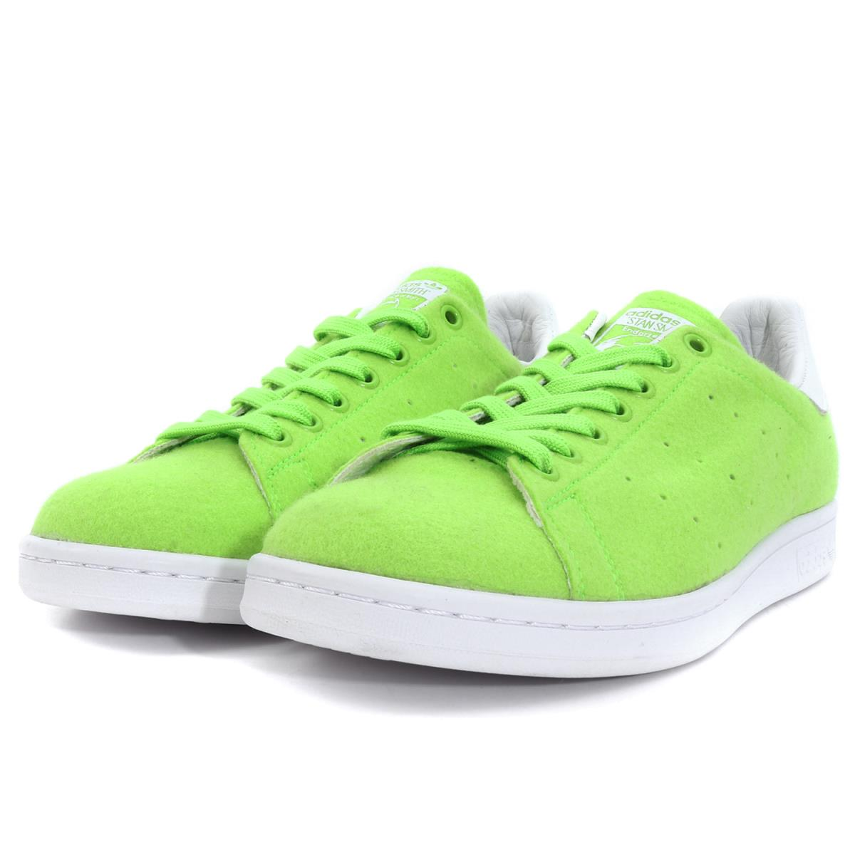4ae157d22a16e6 adidas (Adidas) X PHARRELL WILLIAMS PW STAN SMITH TNS TENNIS PACK II  (B25388) green US10(28cm)