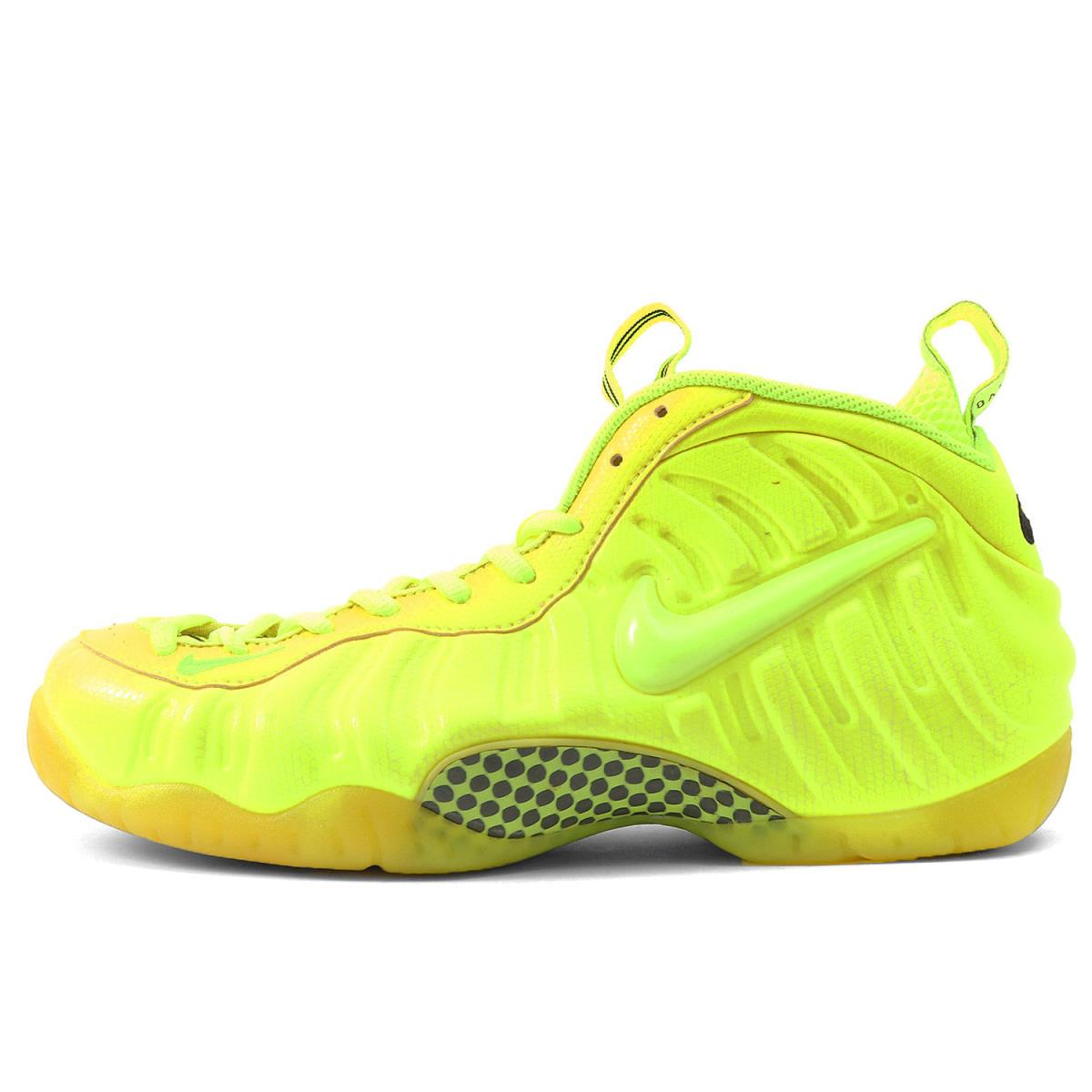 buy online df155 e24cd NIKE (Nike) AIR FOAMPOSITE PRO VOLT (624,041-700) bolt X black  US10.5(28.5cm)