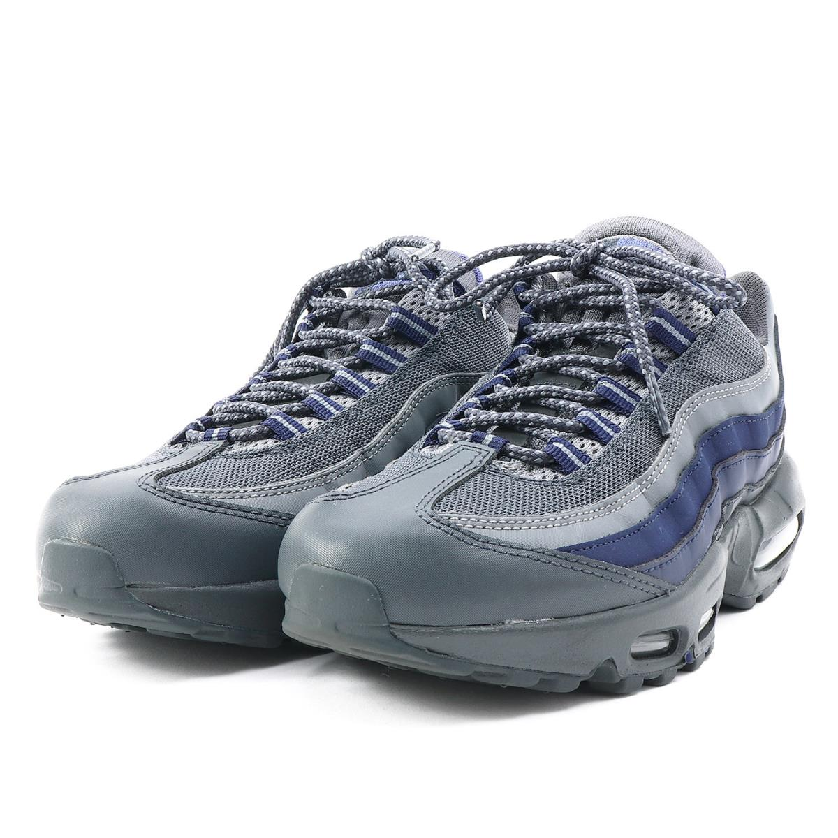 best website 07a21 86827 NIKE (Nike) AIR MAX 95 ESSENTIAL (749,766-011) アンスラサイト X Paramount blue  US8(26cm)