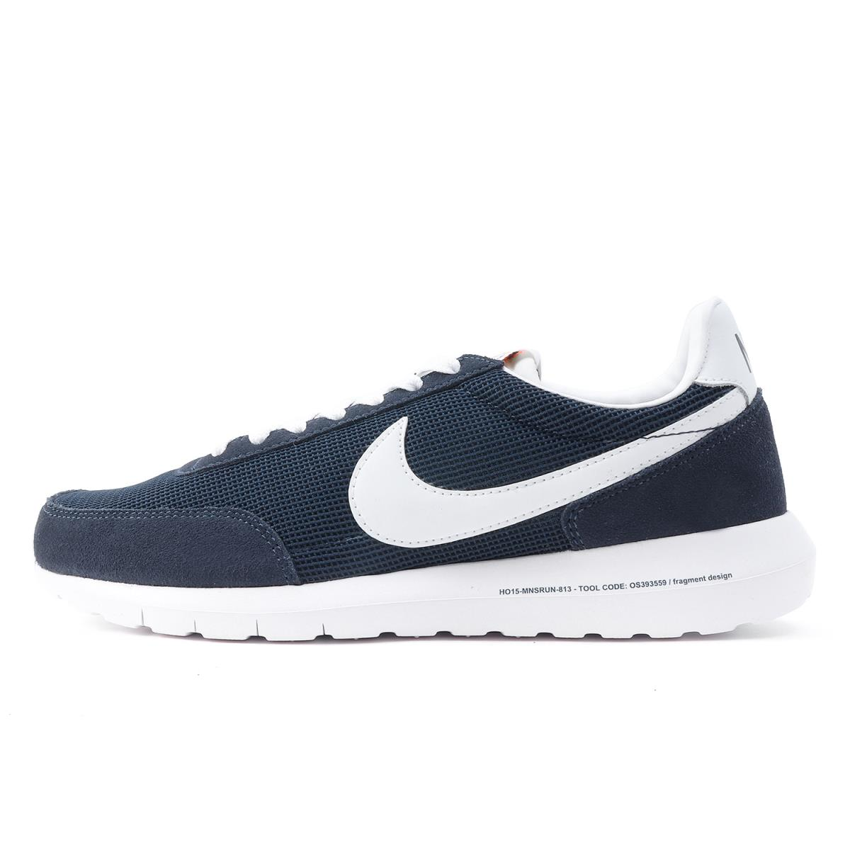 ad998e9d56bf7 ... amazon nike nike x fragment roshe daybreak 826669 410 navy x white  us927cm dfe4a 0af4d