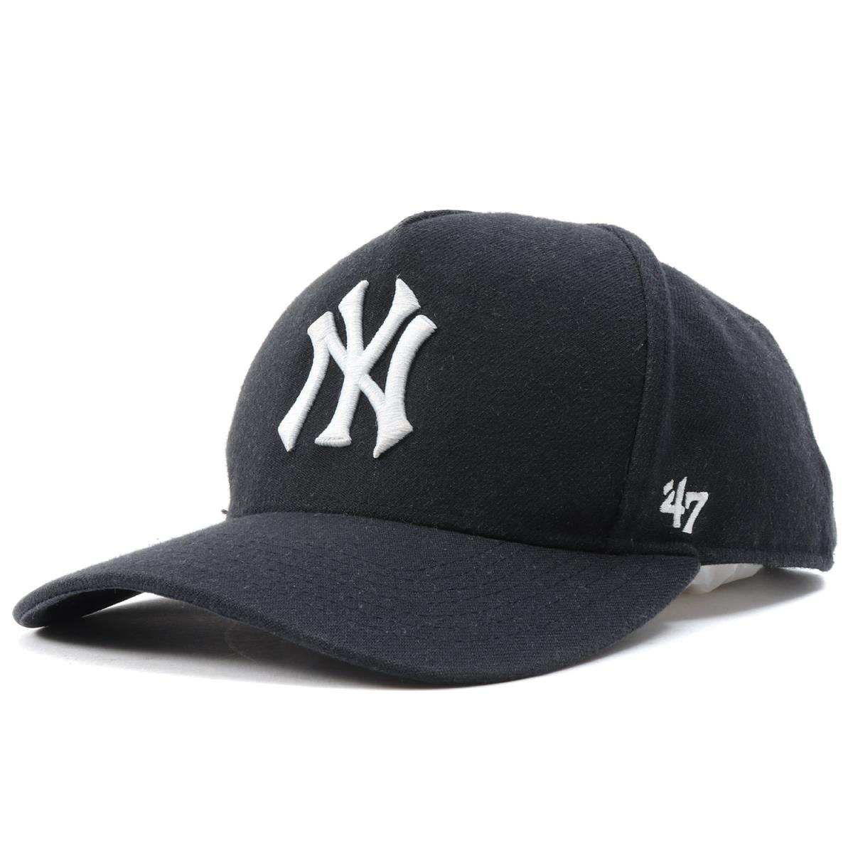 Supreme (シュプリーム) 15S S X New York Yankees NY logo 5 panel cap (47 Brand  5-Panel) navy 9d42d5a8282
