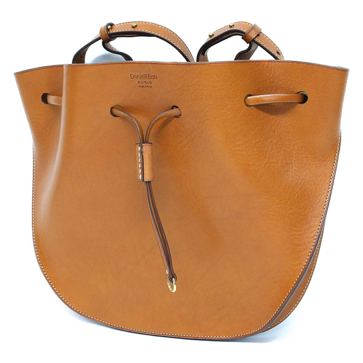 Leather Drawstring Purse One Shoulder Shawl Mini Bag Beauty Product Brown With The Daniel Bob And Porch