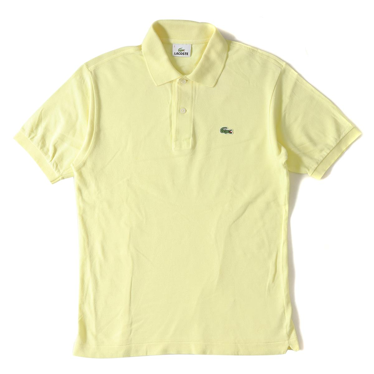 eee861efc36 LACOSTE (Lacoste) crocodile emblem fawn cotton short sleeves polo shirt  (L1212X) yellow 3