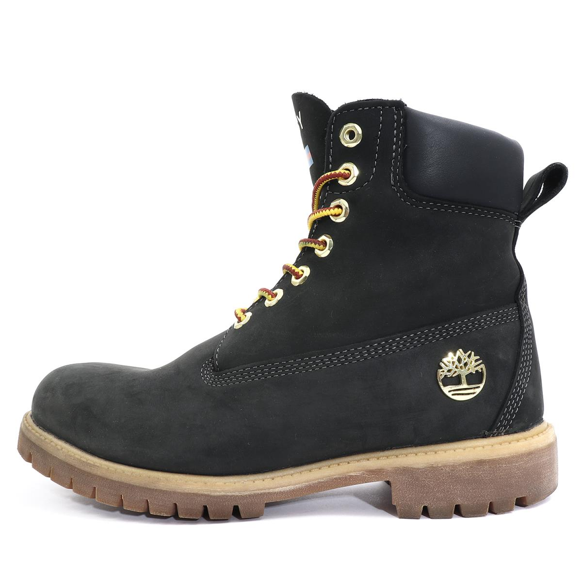 6e13f7e0aaeb BEEGLE by Boo-Bee  STUSSY (ステューシー) X Timberland 6 inches nubuck leather  boots (6 Boot) black US9(27cm)