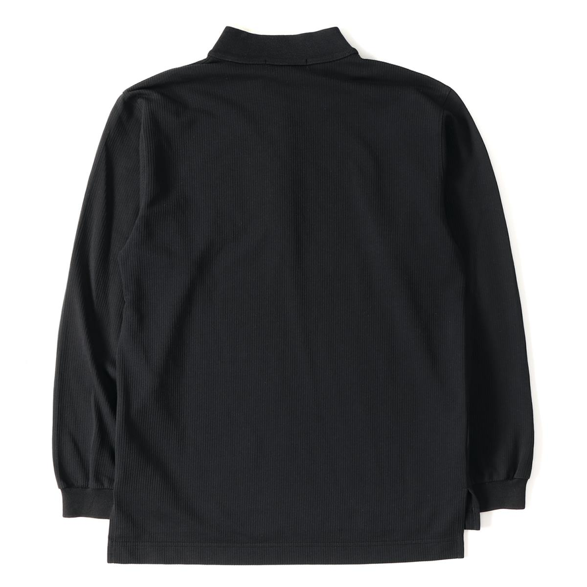 84911d24459 BEEGLE by Boo-Bee  KENZO (Kenzo) logo embroidery T C stand collar long  sleeves polo shirt black 1