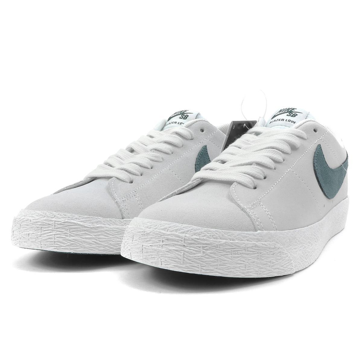 lowest price 0efe2 9447d NIKE (Nike) SB ZOOM BLAZER LOW (864,347-101) summit white X deep jungle  US8.5(26.5cm)