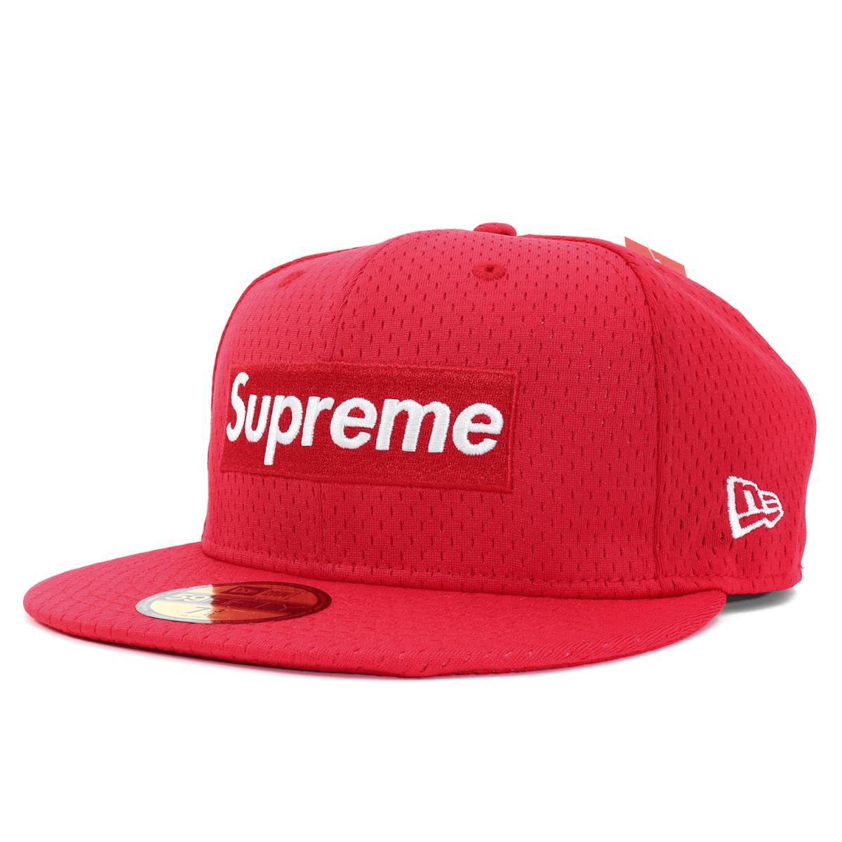 99ec0d9a Supreme (シュプリーム) 18S/S X NEW ERA BOX logo mesh baseball cap (Mesh ...