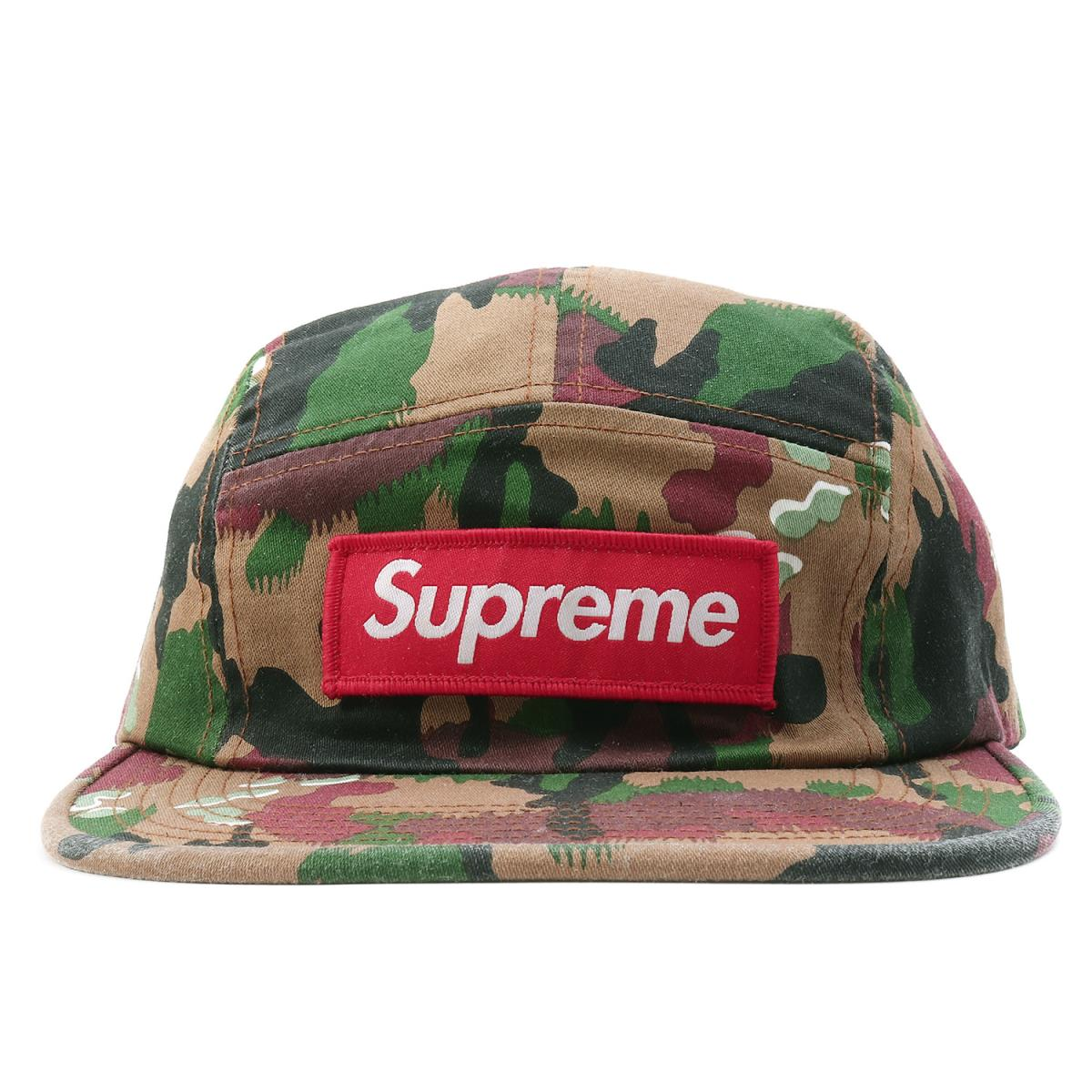 d1b3d26c ... Supreme (シュプリーム) 17S/S Switzerland duck BOX logo military camping cap ( Military ...
