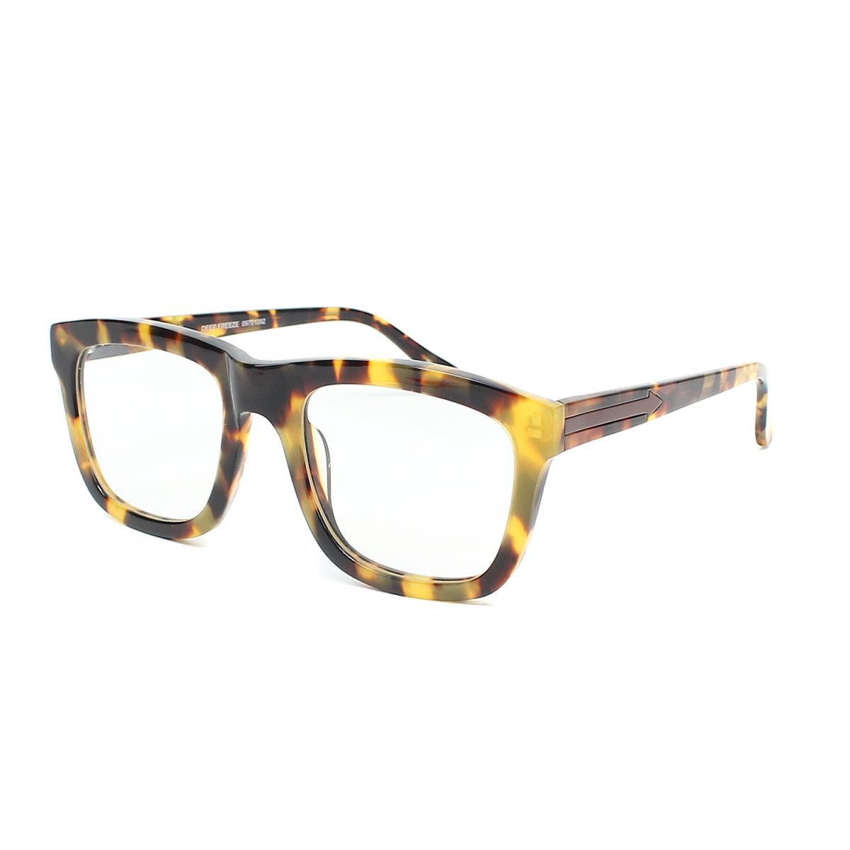 4f0869fc93b5 KAREN WALKER (pretty Walker) DEEP FREEZE tortoiseshell glasses sunglasses  09701092 beige X dark brown X clear