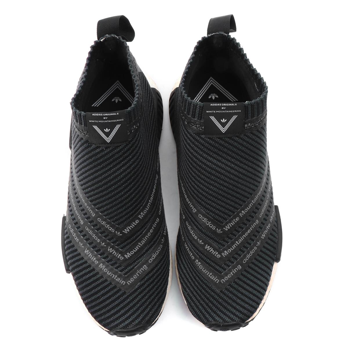 10ad6695d White Mountaineering (ホワイトマウンテニアリング) 16A W X adidas WM NMD CITY SOCK (S80529)  black US8(26cm)