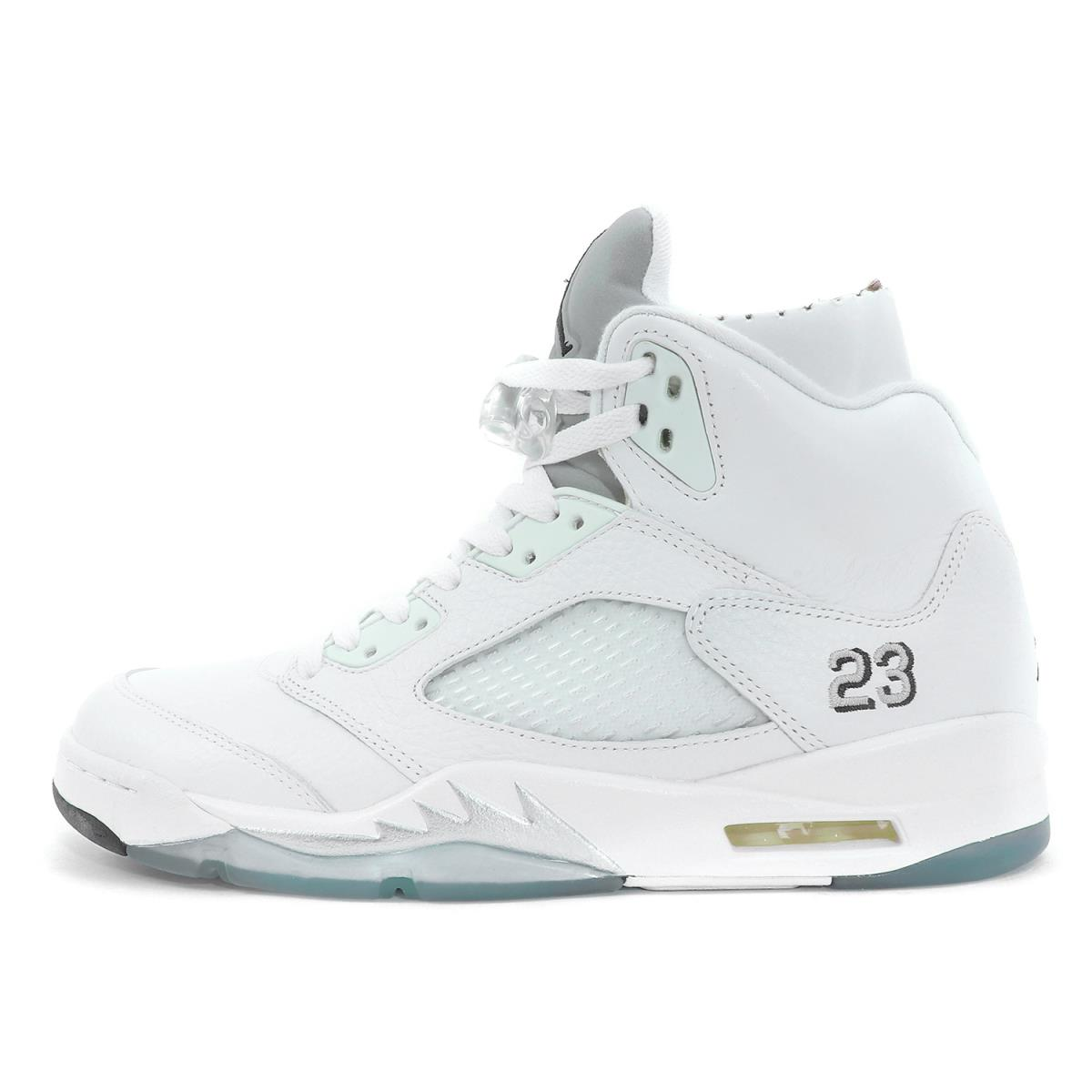 08a21ac5cbd6 ... reduced nike nike air jordan 5 retro metallic silver 136027 130 white x metallic  silver us1028cm