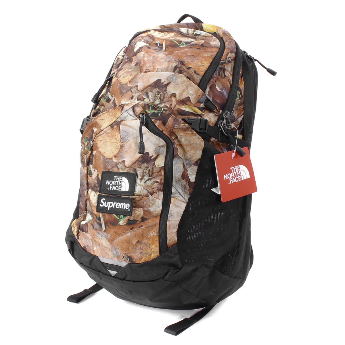 Supreme (シュプリーム) 16A/W ×THE NORTH FACE リーフカモバックパック(Leaves Pocono Backpack) リーフハンティングカモ 【メンズ】【K2047】【あす楽☆対応可】