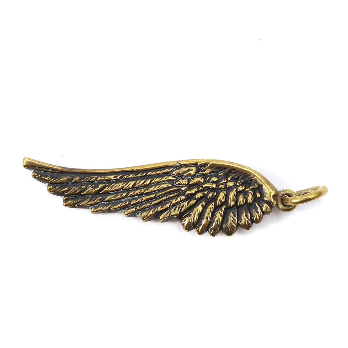 4384f5db9 BEEGLE by Boo-Bee: CALEE (carry) 17S/S wing pendant top (WING TOP ...