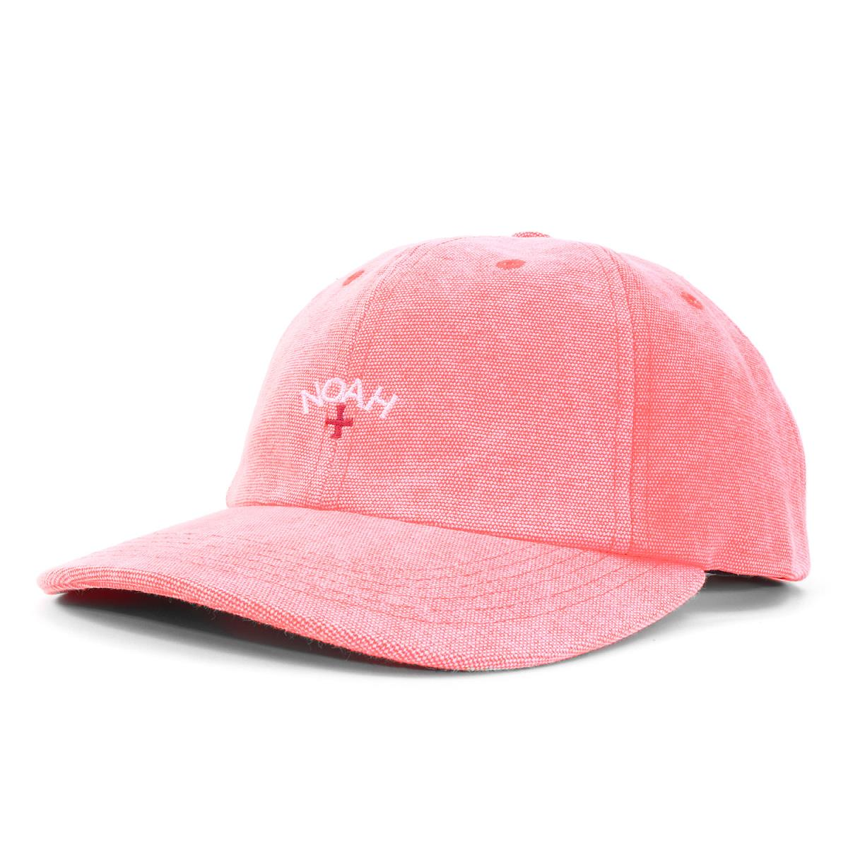 NOAH (Noah) brand logo embroidery 6 panel cap (Canvas 6 Panel Cap) Coral 0175cbf9bb3