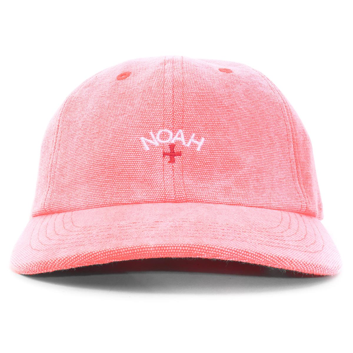 6230e4f88d0 NOAH (Noah) brand logo embroidery 6 panel cap (Canvas 6 Panel Cap) Coral