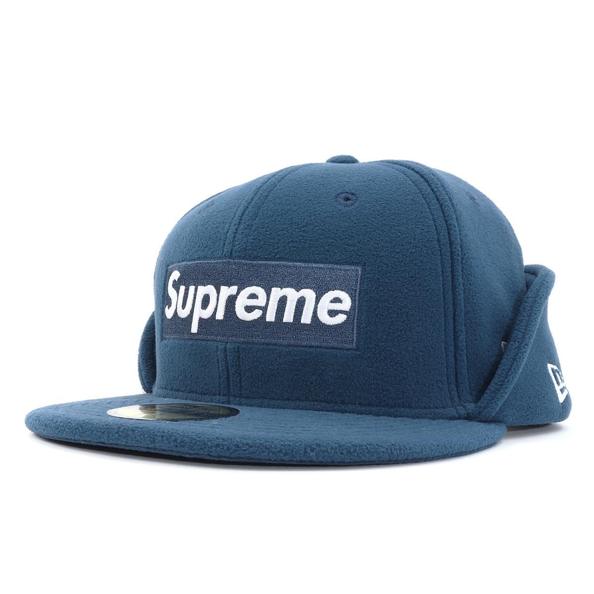 badc5a0f Supreme (シュプリーム) 17A/W X NEW ERA fleece BOX logo baseball cap (Polartec ...