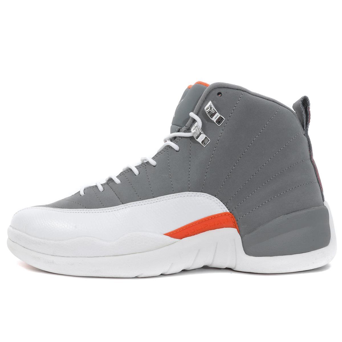 outlet store 1fd30 5d387 NIKE (Nike) AIR JORDAN 12 RETRO COOL GREY (130,690-012) cool gray X white  US10.5(28.5cm)