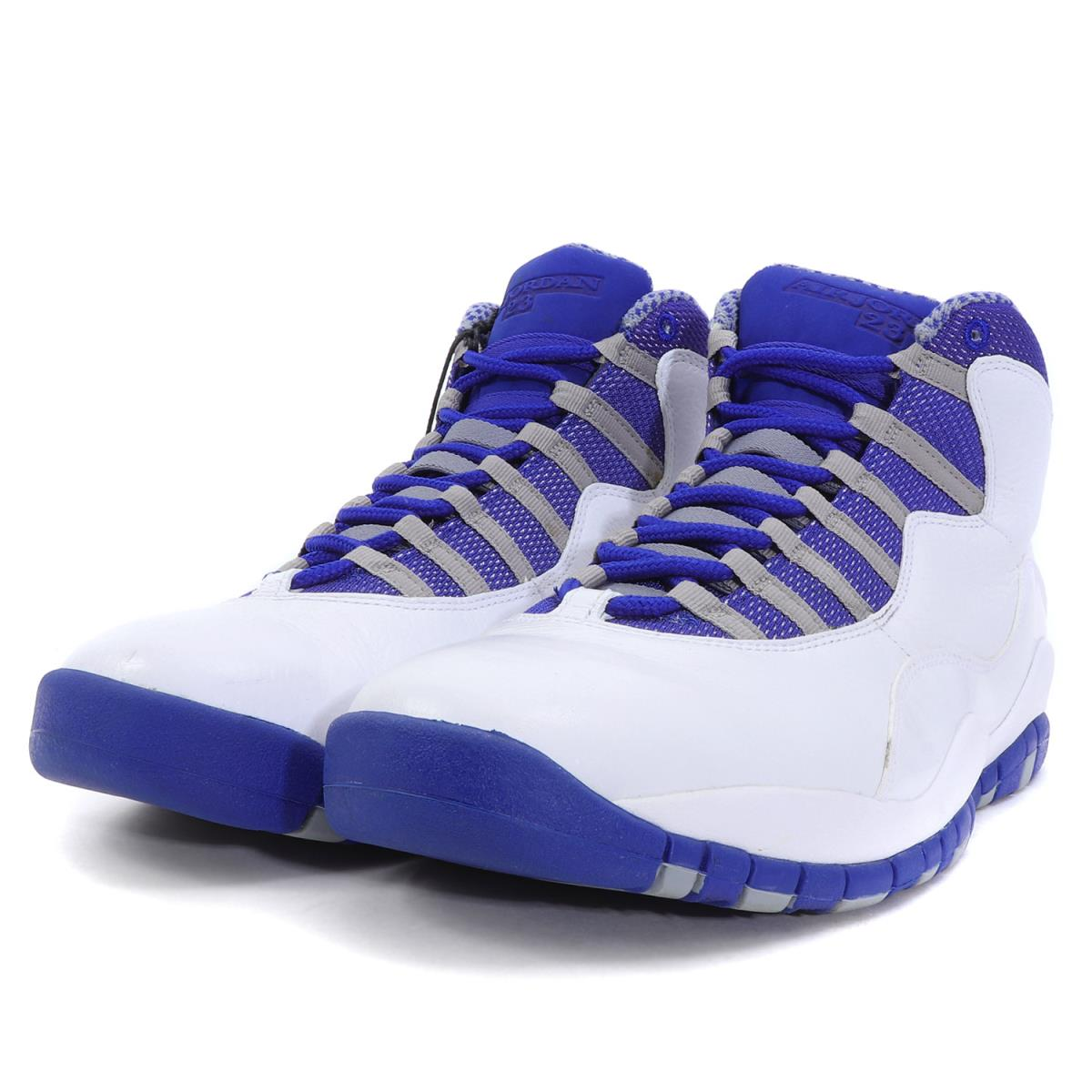 premium selection ce142 f0b6c NIKE (Nike) AIR JORDAN 10 RETRO TXT (487,214-107) white X old royal