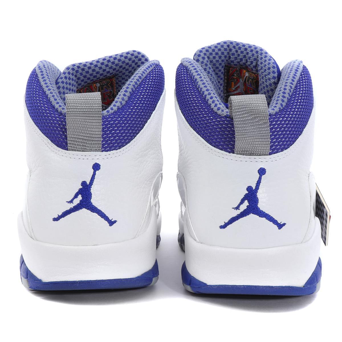 premium selection 6aac6 7c3e2 NIKE (Nike) AIR JORDAN 10 RETRO TXT (487,214-107) white X old royal
