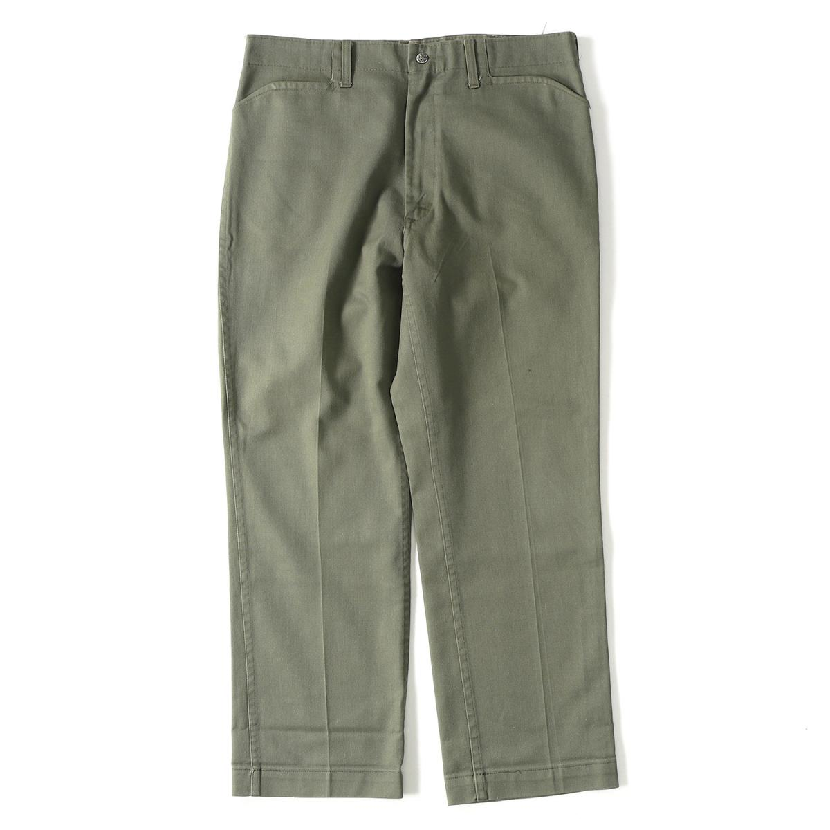 Lee vintage (Lee) 70' s Frisco jeans work pants khaki