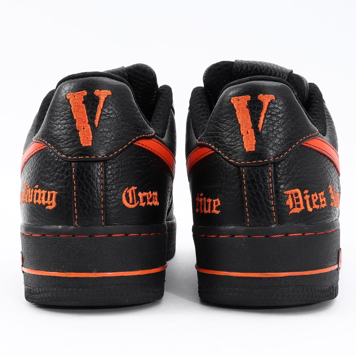 finest selection 67eda ea392 VLONE (VLONE) 17SS X NIKE AIR FORCE 1 LOW (AA5360-001) black X orange  US9(27cm)