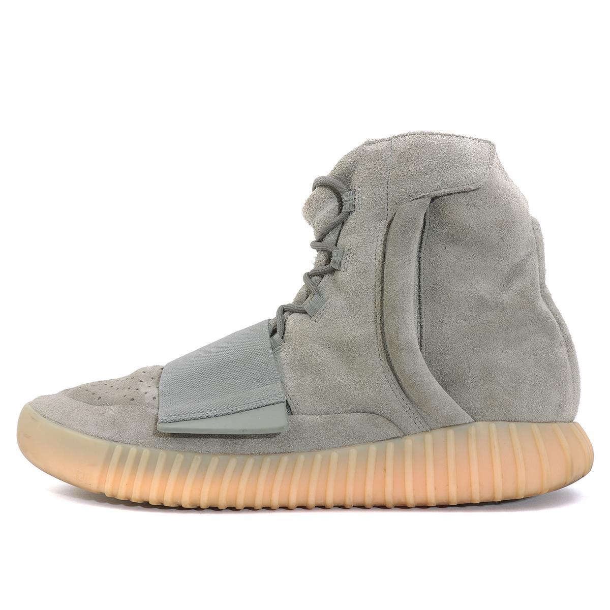 adidas (アディダス) 16S/S YEEZY BOOST 750 Light Grey (BB1840) ライトグレー US12(30cm) 【メンズ】【K2072】【中古】【あす楽☆対応可】