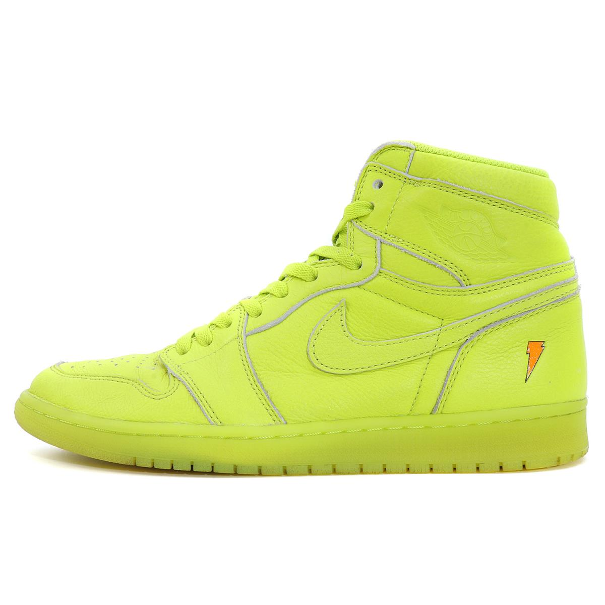 best supplier top fashion classic fit NIKE (Nike) AIR JORDAN 1 RETRO HIGH OG G8RD GATORADE LEMON(AJ5997-345)  cyber US11(29cm)