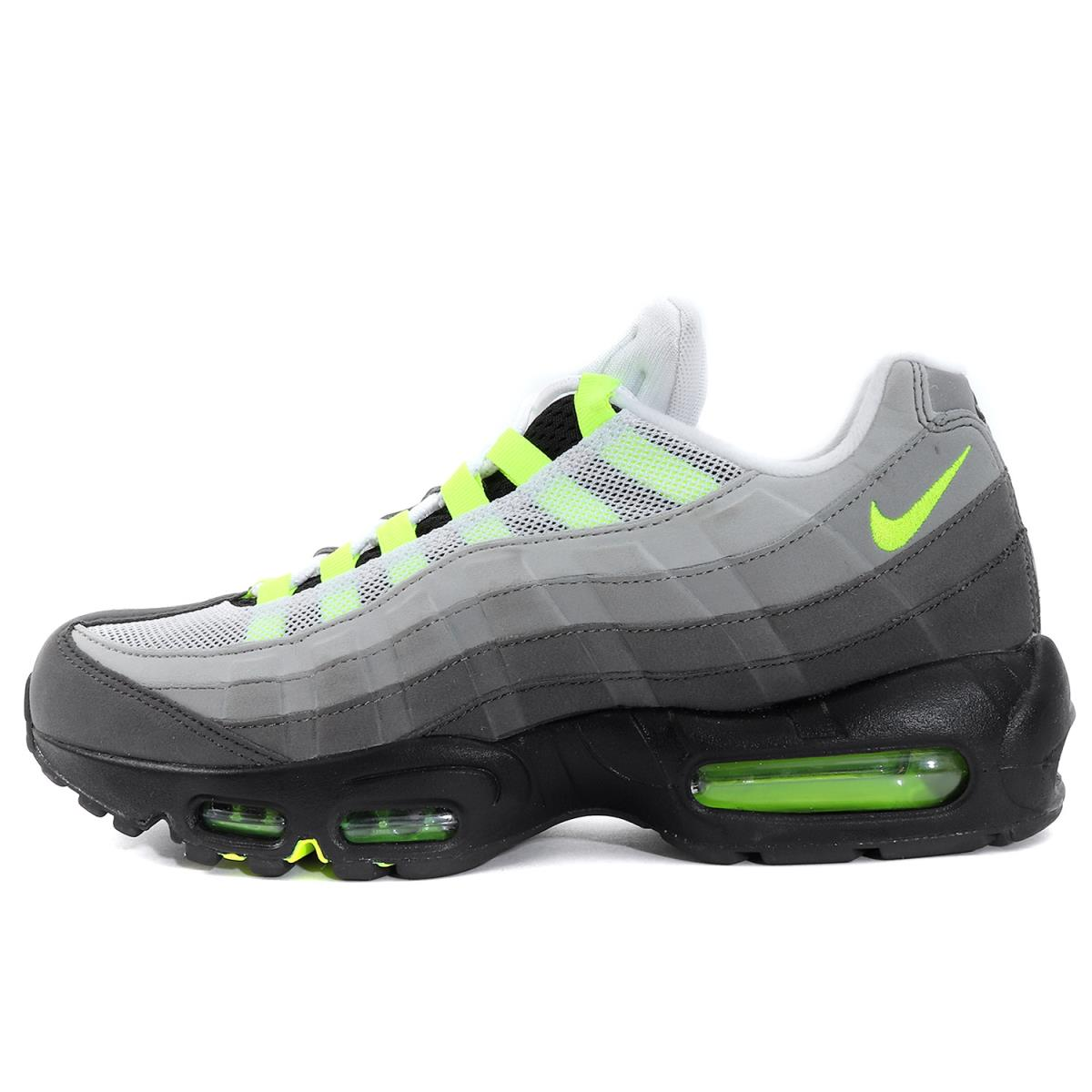 low priced c6d1c 1f4db NIKE (Nike) AIR MAX 95 OG VOLT NEON (/ 554,970-071 made in 2018) black X  bolt US9(27cm)