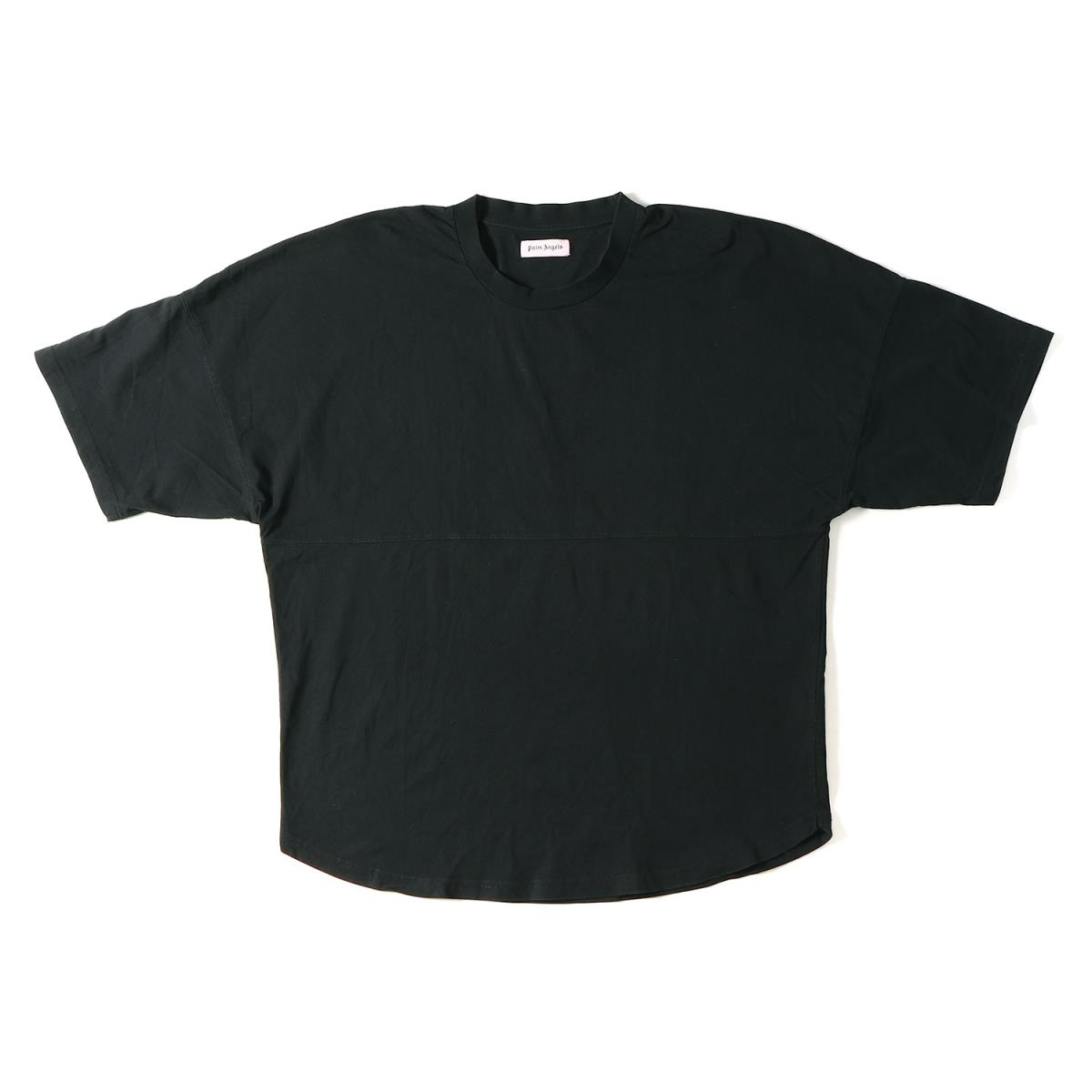 Palm Angels (パーム エンジェルス) バックロゴビッグサイズTシャツ(LOGO OVER TEE) ブラック 【メンズ】【美品】【K2075】【中古】【あす楽☆対応可】